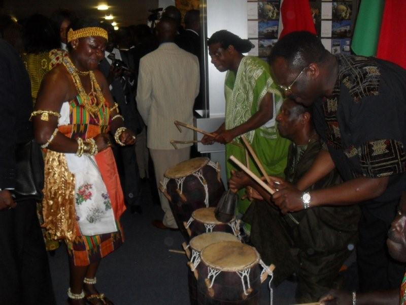 ghana music dance concerts  workshop percussion switzerland